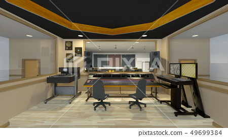 Recording studio 49699384