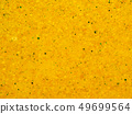 Scores of yellow and green small spheres on 49699564