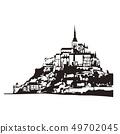 몽생 미셸 49702045