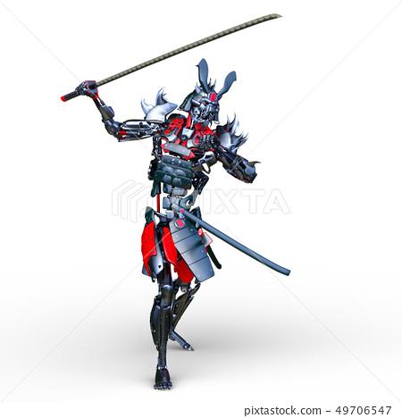 Samurai Robot 49706547