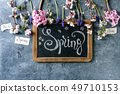 Spring blossom flowers 49710153