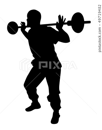 Strength conditioning weightlifting training 49719482