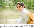 여성 여름 유카타 49725390