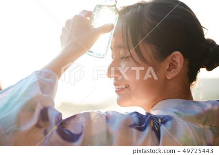 Women Summer Yukata Ramne 49725443