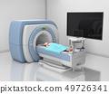 MRI Scanner. Magnetic Resonance Imaging of body. 49726341
