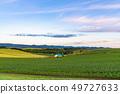 北海道北海道夜明け是美瑛之地 -  Shinei山的黎明 49727633