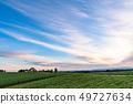 北海道北海道夜明け是美瑛之地 -  Shinei山的黎明 49727634