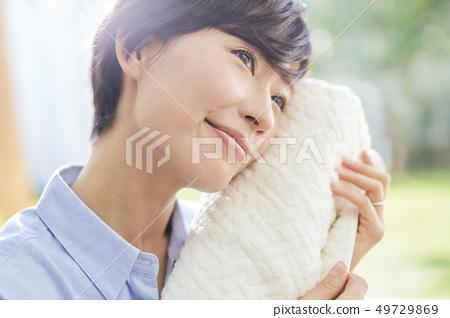 女人的生活方式家務 49729869