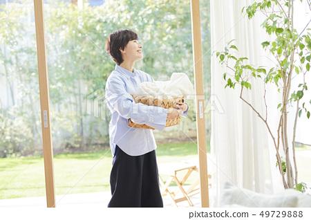 女人的生活方式家務 49729888