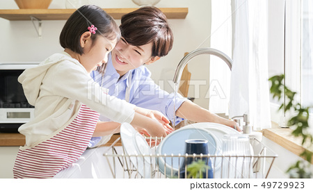 Parent and child lifestyle 49729923
