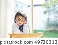 女孩儿童肖像 49730313