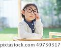女孩儿童肖像 49730317