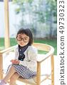 女孩儿童肖像 49730323