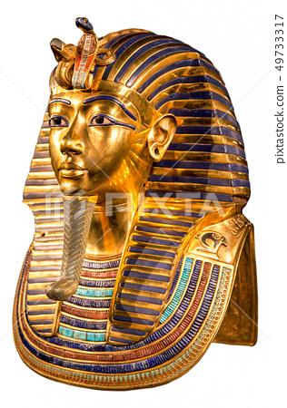 Tutankhamun's burial mask 49733317