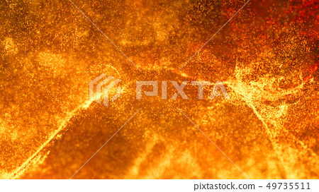 Hot Volcanic Magma, Lava Background 49735511