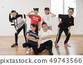 孩子们跳舞教室形象 49743566