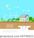 Energy efficient house 49746925