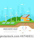 Energy efficient house 49746931
