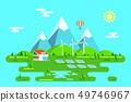 Green energy house concept 49746967
