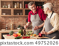 couple, cooking, food 49752026