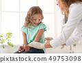 child, doctor, girl 49753098