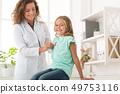 child, doctor, girl 49753116