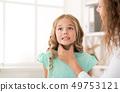 child, doctor, girl 49753121