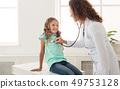 child, doctor, girl 49753128