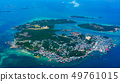 Bird view of Pulau Belakangpadang, Indonesia 49761015