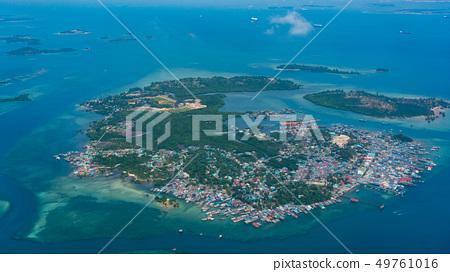 Bird view of Pulau Belakangpadang, Indonesia 49761016