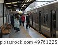 在京王井之頭線的Inokashirakoen站停靠的1000系列 49761225