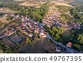 Aerial view of Sejas village in Zamora 49767395