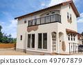 건물 _ 신축 주택과 하늘 49767879