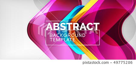 arrow background modern style geometry design stock illustration 49775286 pixta pixta