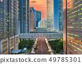 Shinjuku, Tokyo, Japan cityscape past the 49785301