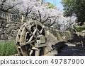 오토 나시 친수 공원 물레 방아가있는 풍경 도쿄도 키타 구 49787900