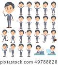 Gray Suit Businessman_emotion 49788828