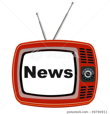 復古電視 49790911