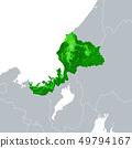 福井县地图 49794167