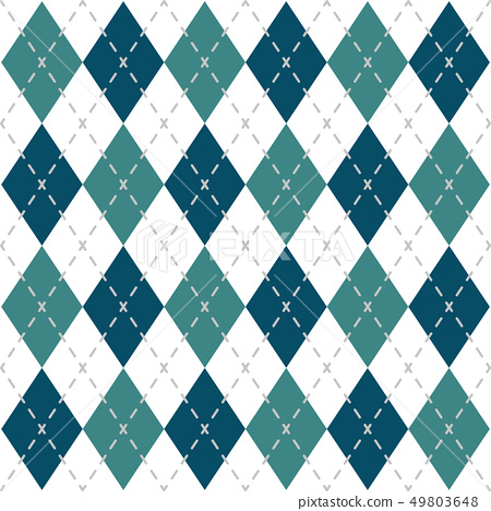 Argyle Check Pattern 49803648