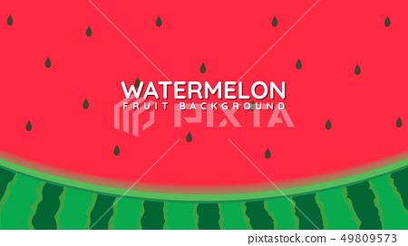 Watermelon design background 49809573