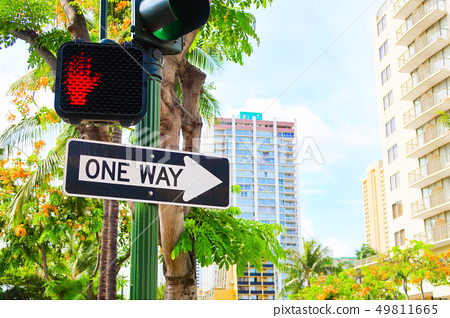 道路標誌和信號(夏威夷) 49811665