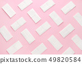 paper tissue abstract pattern on pink background 49820584