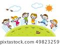 孩子們跳到外面 49823259