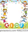 """兒童框架""""兒童"""" 49823559"""
