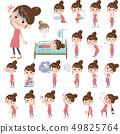 圍裙 主婦 家庭主婦 49825764