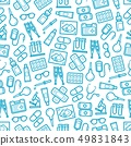 Medical hospital and pharmacy seamless pattern 49831843