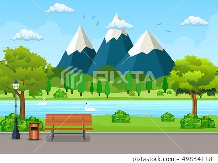 Summer, spring day 49834118