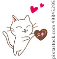 貓和巧克力 49845295