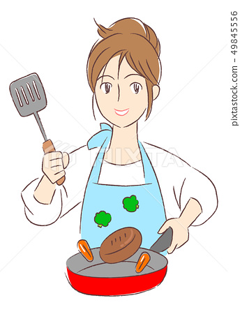 一個女人做飯 49845556
